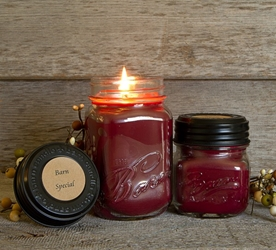 Barn Special Soy Blend Jar Candle 16 or 8oz