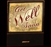 Get Well Soon matchbook