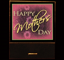 Happy Mothers Day matchbook