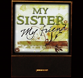 My Sister, My Friend matchbook