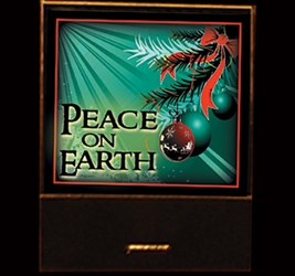 Peace on Earth matchbook