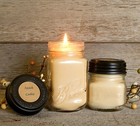 Amish Cookie Soy Blend Jar Candle 16 or 8oz