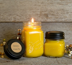 Banana Cream Pie Soy Blend Jar Candle 16 oz