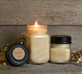 Birthday Cake Soy Blend Jar Candle 16 oz