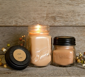 Chai Latte Soy Blend Jar Candle 8oz