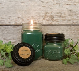 Cilantro Citrus Herb Soy Blend Jar Candle 8oz