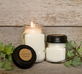 Coconut Lime Verbena Soy Blend Jar Candle 8oz
