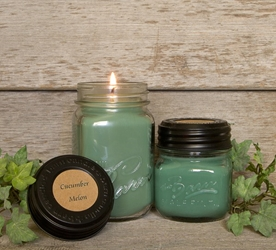 Cucumber Melon Soy Blend Jar Candles 8oz