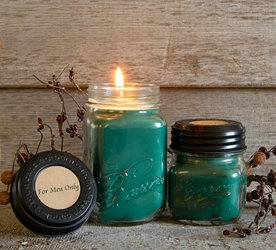 For Men Only Soy Blend Jar Candle 8oz
