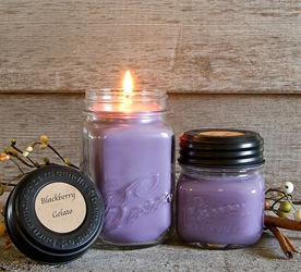 Blackberry Gelato Jar Candle 8oz