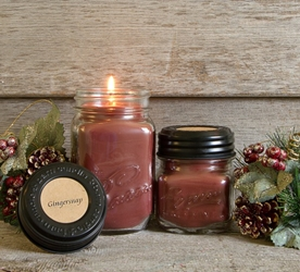Gingersnap Soy Blend Candle 16oz or 8oz
