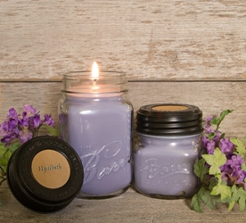 Hyacinth Soy Blend Jar Candle 8oz