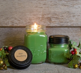 Kiwi Strawberry Soy Blend Jar Candle 8oz