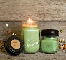 Lemon Grass Soy Blend Jar Candle 8oz
