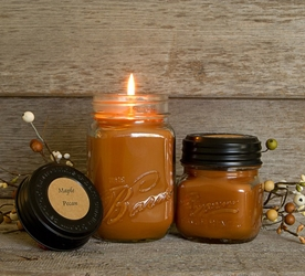 Maple Pecan Soy Blend Jar Candle 16oz