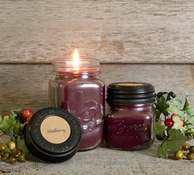 Mulberry Soy Blend Jar Candle 16oz