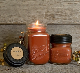 Pumpkin Pie Soy Blend Jar Candle 16oz