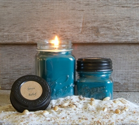Stress Relief Soy Blend Jar Candle 8oz
