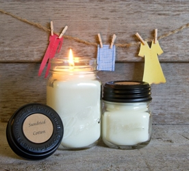 Sun Dried Cotton Soy Blend Jar Candle 8oz