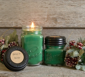 Spruce & Berries Soy Blend Jar Candle 8oz