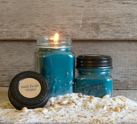 South Pacific Waters Soy Blend Jar Candle 8oz