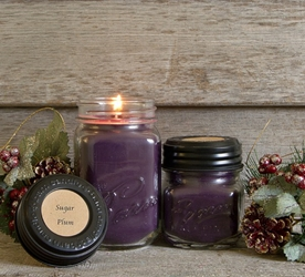 Sugar Plum Soy Blend Jar Candle 8oz