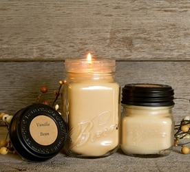 Vanilla Bean Soy Blend Jar Candle 8oz