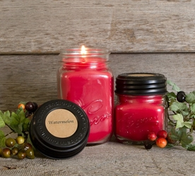 Watermelon Soy Blend Jar Candle  8oz