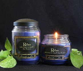Lavender & Lace Reflective Light Scentiments Candle