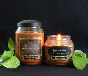 Maple Pecan Reflective Light Scentiments Candle