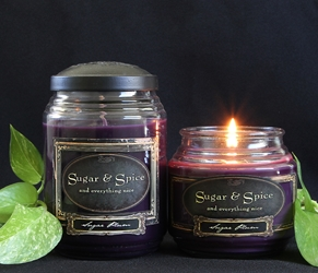 Sugar Plum Reflective Light Scentiments Candle