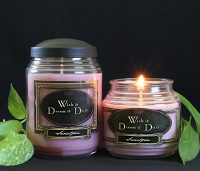 Sweetpea Reflective Light Scentiments Candle
