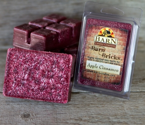 Apple Cinnamon Wax Barn Brick