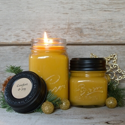 Comfort & Joy Soy Blend Jar Candle 16 oz