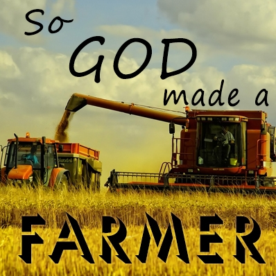 God Made A Farmer Red Acgmafr