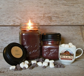 Hot Cocoa Soy Blend Jar Candle 8oz