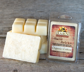 Organic Cotton Wax Barn Brick