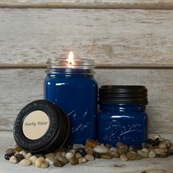 Smoky Water Soy Blend Jar Candle 8oz