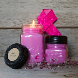 Sweet Courage Soy Blend Jar Candle 8oz