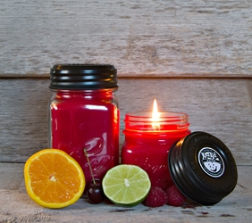 Tropical Punch Soy Blend Jar Candle 8oz