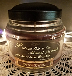 Berry Kisses Reflective Light Inspirations Candle
